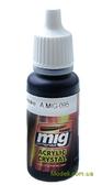 Цветной лак AMMO A-MIG-0095: Прозрачный, дымчато-серый