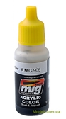 Акриловая краска AMMO A-MIG-0906: Серая теневая