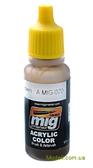 Акриловая краска AMMO A-MIG-0070: Средне-коричневая