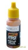 Акриловая краска AMMO A-MIG-0014: Красно-коричневый