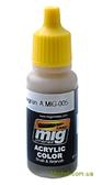Акриловая краска AMMO A-MIG-0005: Серо-зеленый, вариант 1 от MIG (AMMO)