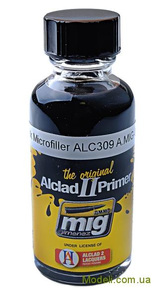 Alclad II AMMO A-MIG-8211: Черный микронаполнитель MIG (AMMO) 8211