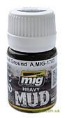 Текстура сильного загрязнения AMMO A-MIG-1703: Влажная земля