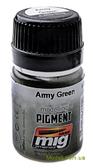 Пигмент A-MIG-3019: Армейский зеленый