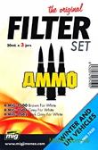 Набор фильтров A-MIG-7450: Бронетехника белого цвета от MIG (AMMO)