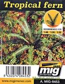 Растения, лазерная нарезка A-MIG-8453: Тропический папоротник