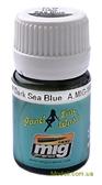 Смывка для выделения расшивки A-MIG-1603: Синий морской, темный