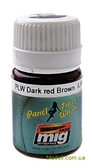 Смывка для выделения расшивки A-MIG-1605: Темно красно-коричневый