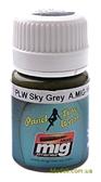 Смывка для выделения расшивки A-MIG-1607: Небесно-серый