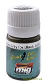 Купить Смывка для выделения расшивки A-MIG-1615: Серый для черного в Украине, в Киеве