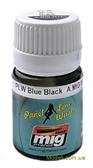 Смывка для выделения расшивки A-MIG-1617: Черно-голубой