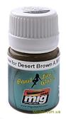 Смывка для выделения расшивки A-MIG-1621: Тень для пустынного коричневого