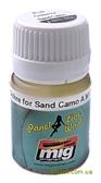 Смывка для выделения расшивки A-MIG-1622: Охра для песочного камуфляжа