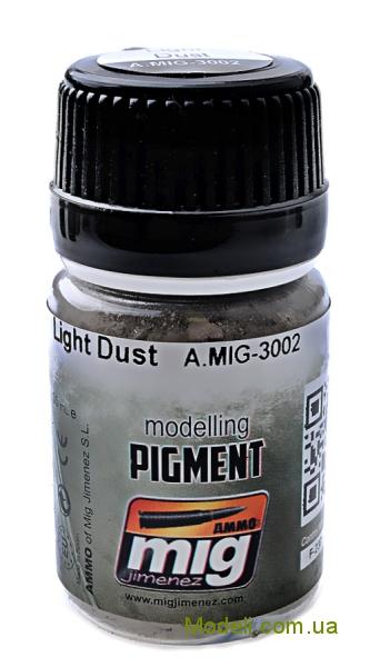 Пигмент A-MIG-3002: Светлая пыль MIG (AMMO) 3002