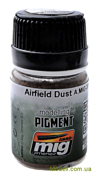 Пигмент A-MIG-3011: Аэродромная пыль MIG (AMMO) 3011
