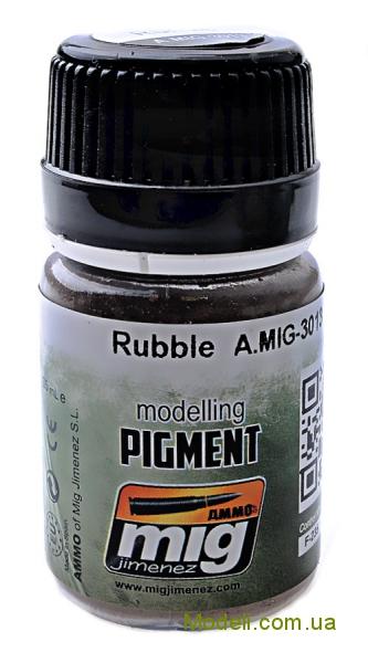 Пигмент A-MIG-3013: Щебень MIG (AMMO) 3013
