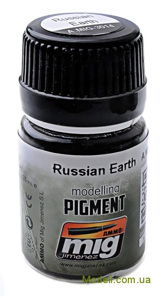 Пигмент A-MIG-3014: Русская земля MIG (AMMO) 3014