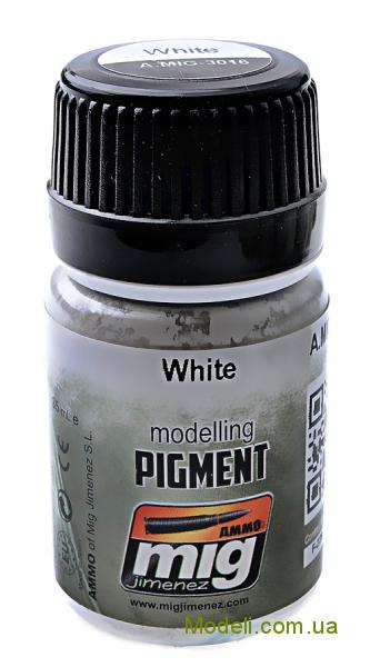 Пигмент A-MIG-3016: Белый MIG (AMMO) 3016