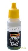 Акриловая краска AMMO A-MIG-0077: Тусклый зеленый