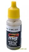 Акриловая краска AMMO A-MIG-0929: Оливковая, блестящая базовая