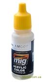 Акриловая краска AMMO A-MIG-0017: Кремовый