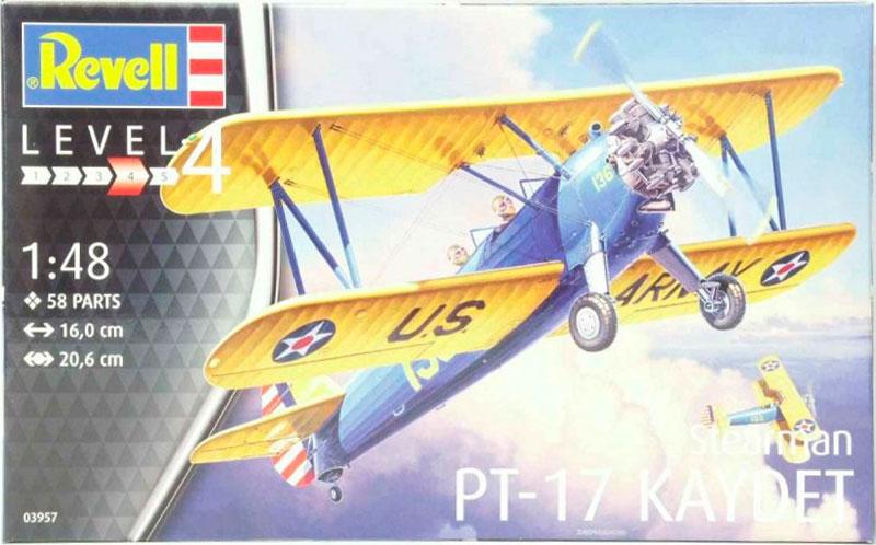 Учебно-тренировочный самолет Stearman P-17 Kaydet Revell 03957