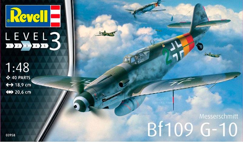 Истребитель Messerschmitt Bf109 G-10 Revell 03958