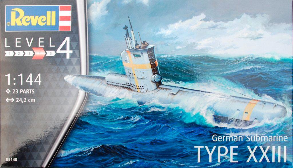 Подводная лодка Type XXIII Revell 05140