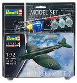 Model Set Самолет Бомбардировщик-разведчик Heinkel He70 F-2