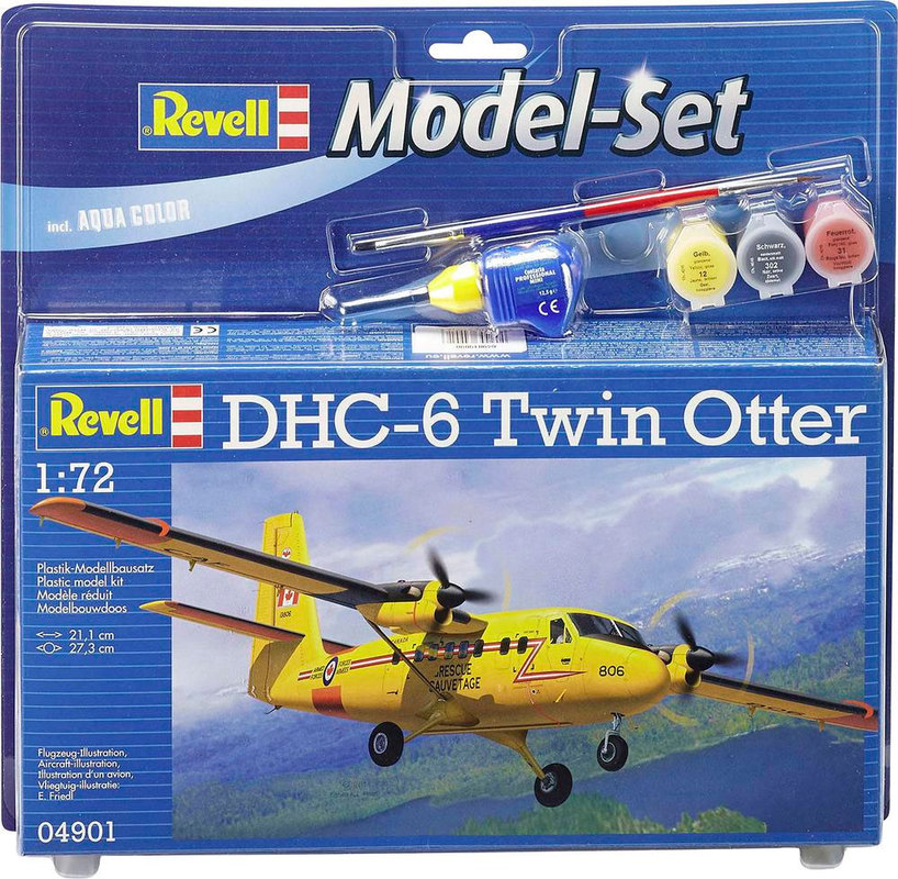 Model Set Самолет DHC-6 Twin Otter Revell 64901