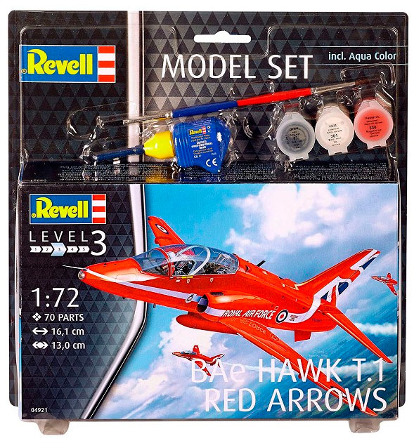 Model Set Самолет BAe Hawk T.1 Red Arrows Revell 64921