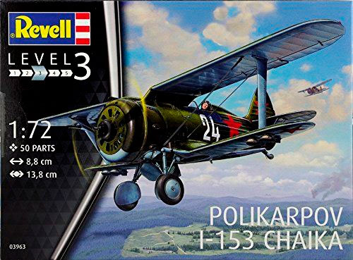 Истребитель-биплан Поликарпов И-153 Чайка, Polikarpov I-153 Chaika Revell 03963