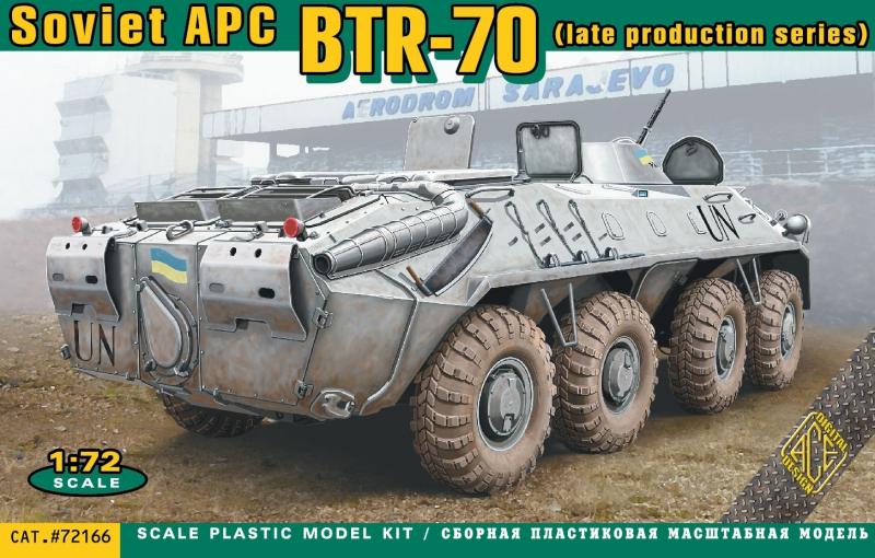 БТР-70 (позднего выпуска) Ace 72166