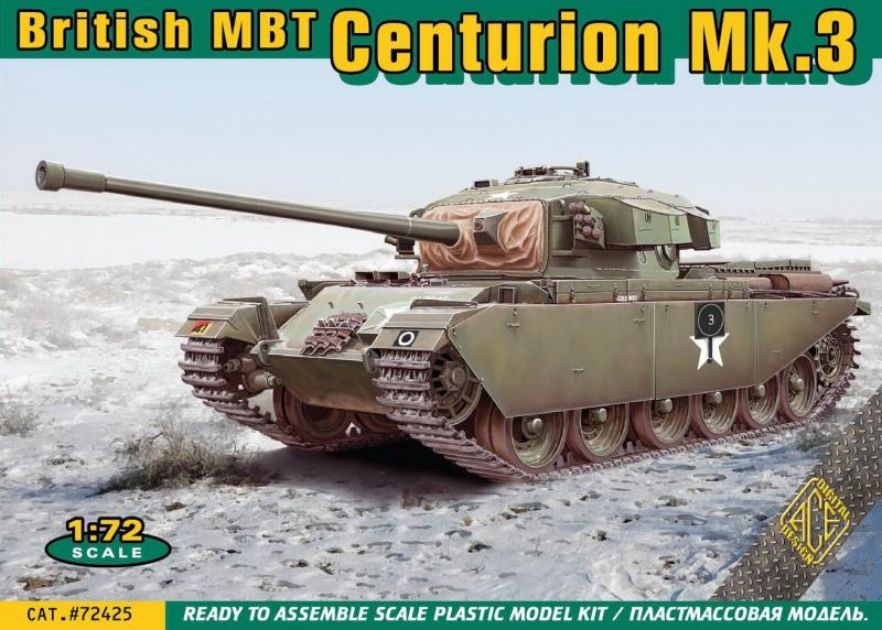 Британский танк Centurion Mk.3 (Корейская война) Ace 72425