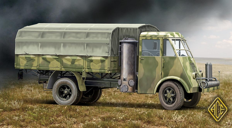 Французский 3,5т грузовик AHN Ace 72532
