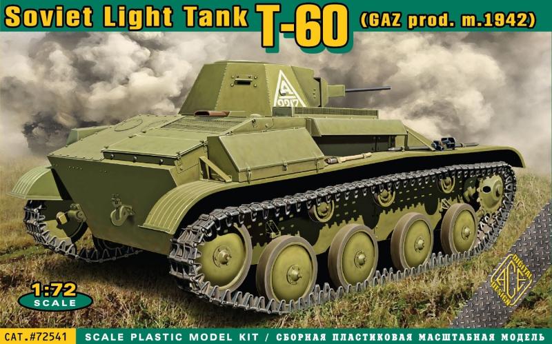Танк Т-60 производства завода ГАЗ (мод. 1942) Ace 72541