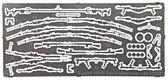 Советское стрелковое оружие (Наган, карабин Мосина мод. 38, TT, ППС-43, ППШ, ПТРД, СВТ)