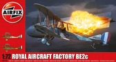 Биплан Royal Aircraft Facility BE2C