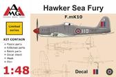 Истребитель F.mK10 Hawker Sea Fury