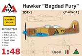 Истребитель IDT-1 Hawker ''Bagdad Fury''