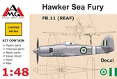 Истребитель FB.11 (REAF) Hawker Sea Fury