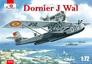 Немецкая летающая лодка Dornier J Wal, война в Испании Amodel 72233 основная фотография