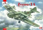 Самолет-носитель ''Звено-1А'' ТБ-1 и И-5
