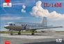 Пассажирский самолет Ил-14М Amodel 72324 основная фотография