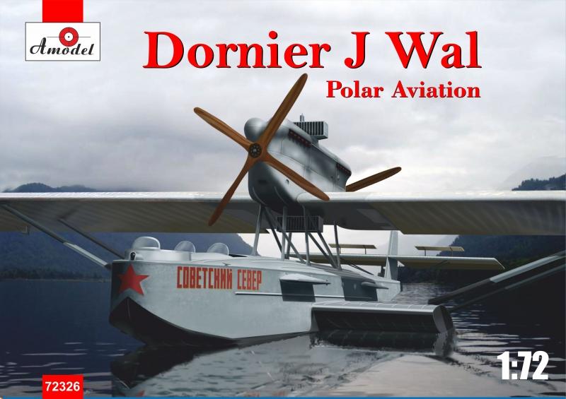 Немецкая летающая лодка Dornier J Wal, Polar aviation Amodel 72326