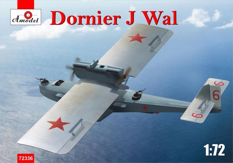 Немецкая летающая лодка Dornier J Wal Amodel 72336