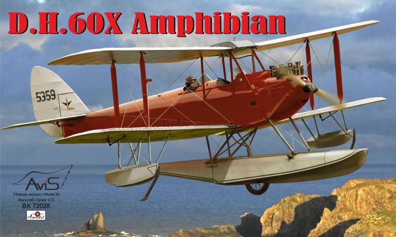 Самолет DH-60X ''Amphibian'' Avis 72028
