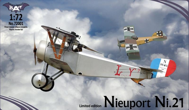 Биплан Nieuport Ni.21 Bat project 72001