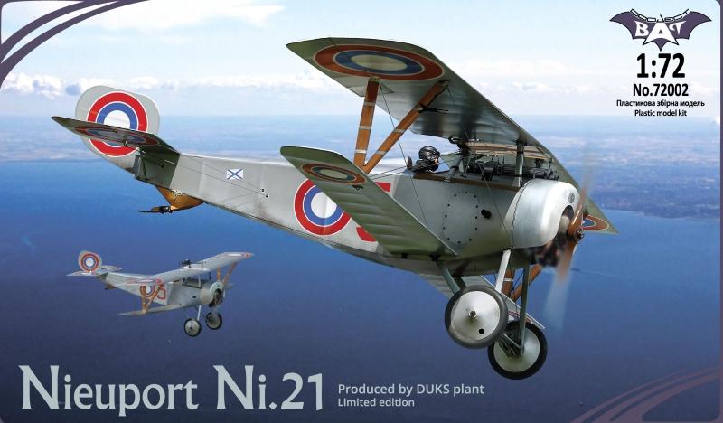 Биплан Nieuport Ni.21 Bat project 72002
