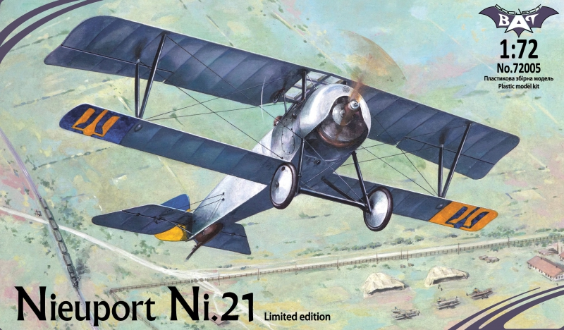 Биплан Nieuport Ni.21 Bat project 72005